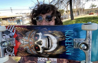 Anderson Skateboard vs The Park - NKA Vids