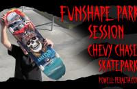 "'Funshape Park Session' Anderson 8.45"" - Chevy Chase Skatepark"