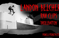 "Landon Belcher 'Raw Clips' - The Berrics ""Drollbaton"""