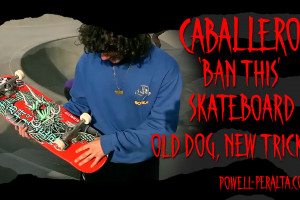 "'Old Dog, New Tricks' - Caballero ""Ban This"" Skateboard"