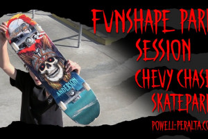 "'Funshape Park Session' Anderson 8.45"" - Chevy Chase Skatepark"
