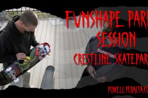 'Funshape Park Session' - Crestline Skatepark