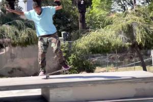 Zach Doelling - Hollenbeck Skatepark with Spencer Semien