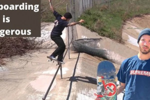 Zach Doelling - 'SKATEBOARDING IS DANGEROUS'