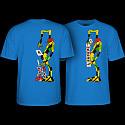 Powell Peralta Ray Barbee Rag Doll T-Shirt Royal Blue