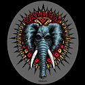 Powell Peralta Vallely Elephant Sticker 20pk