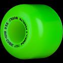 Powell Peralta Mini-Cubic Skateboard Wheels 64mm 95a - Green (4 pack)