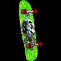 Powell Peralta Mini Skull and Sword Green Complete Skateboard - 8.0 x 30