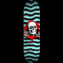 Powell Peralta Ripper Skateboard Deck Pastel Blue - Shape 249 - 8.5 x 32.08