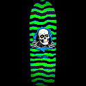 Powell Peralta Old School Ripper Skateboard Deck Green/Black - 10 x 31.75