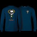 Powell Peralta Skull & Snake L/S Shirt Navy