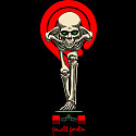 Powell Peralta Tucking Skeleton Sticker 20pk