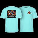 Powell Peralta Bucky Lasek Stadium T-Shirt Celadon