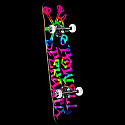 Powell Peralta Vato Rat Tie Dye Complete Skateboard - 8 x 32.125