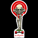 Powell Peralta Tucking Skeleton Sticker Single