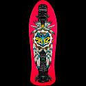 Powell Peralta Steve Saiz Totem Pink Skateboard Deck - 10 x 30.81