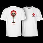 Powell Peralta Tucking Skeleton T-shirt White