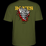 Powell Peralta Shred T-shirt - Military Green
