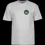 Powell Peralta Steve Saiz Totem T-Shirt Athletic Heather