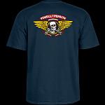 Powell Peralta Winged Ripper T-shirt - Navy