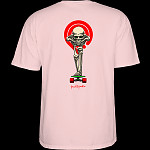Powell Peralta Tucking Skeleton T-shirt Pink