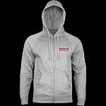 Powell Peralta Supreme Hooded Zip Sweatshirt - Gunmetal Heather