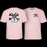Powell Peralta Rat Bones T-Shirt Light Pink