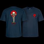 Powell Peralta Tucking Skeleton T-shirt Navy