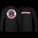 Powell Peralta Supreme L/S T-shirt - Black