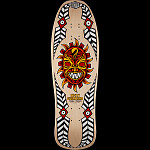 Powell Peralta Guerrero Mask Skateboard Deck Natural - 10 x 31.75