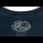 Powell Peralta Skateboarding Skeleton T-shirt - Navy