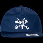 Powell Peralta Vato Rat Snap Back Cap - Navy