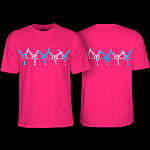 Powell Peralta Vato Rat Band T-shirt Hot Pink