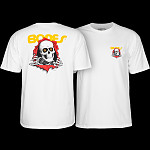 Powell Peralta Ripper YOUTH T-shirt - White