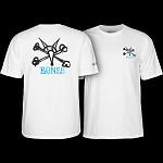 Powell Peralta Rat Bones YOUTH T-shirt - White
