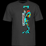 Powell Peralta Ray Barbee Ragdoll T-shirt Charcoal