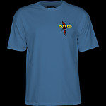 Powell Peralta Shred T-shirt Slate Blue