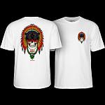 Powell Peralta Kelvin Hoefler Skull T-Shirt White