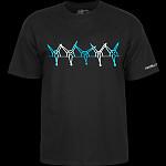 Powell Peralta Vato Rat Band T-Shirt - Black