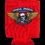 Powell Peralta Winged Ripper Koozie Red