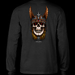 Powell Peralta Andy Anderson L/S Shirt Charcoal Heather