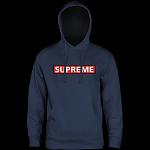 Powell Peralta Supreme Hooded Sweatshirt Mid Weight Navy