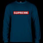 Powell Peralta Supreme L/S T-shirt - Navy