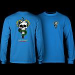 Powell Peralta Skull & Snake L/S Shirt Royal Blue