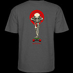 Powell Peralta Tucking Skeleton T-shirt Charcoal