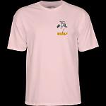 Powell Peralta Sk8board Skeleton T-shirt Light Pink