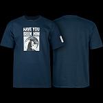 Powell Peralta Animal Chin Navy T-shirt