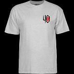 Powell Peralta 40th Anniversary Winged Ripper T-shirt Gray
