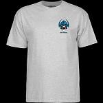 Powell Peralta Welinder Nordic Skull T-shirt - Athletic Gray