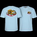Powell Peralta Oval Dragon YOUTH T-shirt - Powder Blue